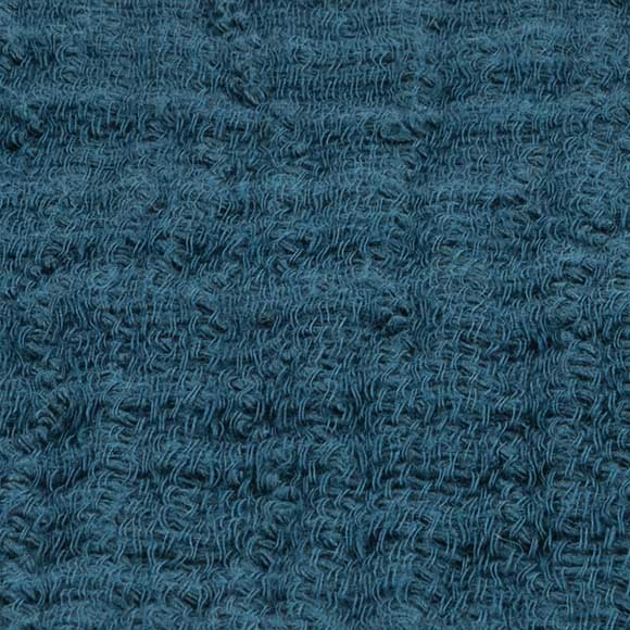 Sarcelle effet tricot